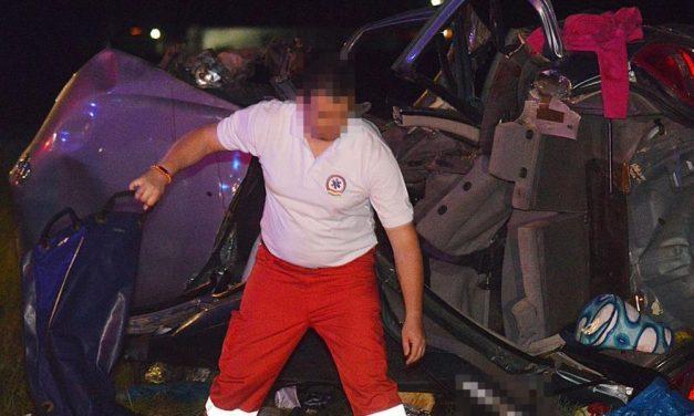 Egy anyuka halt meg a bócsai balesetben, kislánya életéért küzdenek