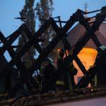 Durva: lángokba borult az Egrix tetőszerkezete – Videóval