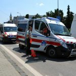 Beteget szállító mentő elé hajtott egy kocsi Dunaszerdahelyen