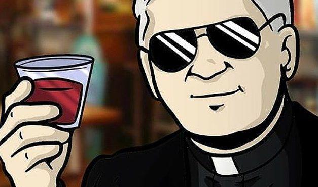 Egy valódi pap szólt be Tibi atyának