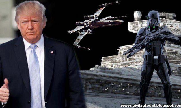 Donald Trump elrendelte: űrhaderőt kell létrehozni