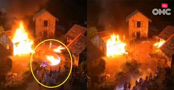 Felcsaptak a lángok a forgatáson, 31 színész megégett