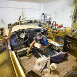 Százmilliós autócsodákat is készít a vásárhelyi restaurátor – Raffai Lajos karosszérialakatos egyszerre 3 autón dolgozik