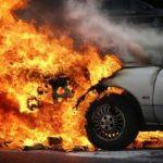 Autóbontó lángol Hajdúszoboszlón