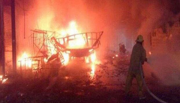 Berobbant egy ünnepségre előkészített tűzijáték, nyolcan meghaltak