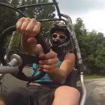 Videó: A sebességőrültek élete nem mindig móka és kacagás