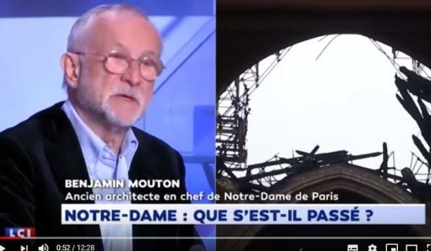 A volt főépítész a Notre-Dame ügyéről: Mégsem baleset volt a tűz?