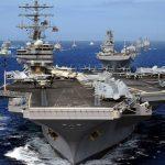 Az USA egy anyahajója egy közepes ország teljes haderejét képviseli