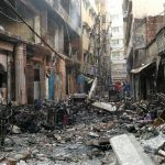 50 ezren váltak hajléktalanná a bangladesi nyomornegyed tűzvészében