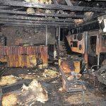 Egyetlen égő cigarettacsikk miatt lett a lángok martaléka a hajdúszoboszlói üdülőház