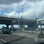 Robbantással fenyegetőzött egy volt katona Kijev egyik hídján