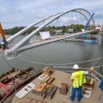 Ilyen is lesz, biciklis híd a Tiszán át