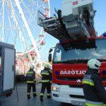 Ha menteni kell az embereket Eger első óriáskerekéről, a tűzoltók így fogják csinálni – FOTÓK