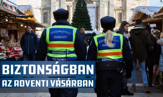 Biztonságban a Budapesti Adventi és Karácsonyi Vásárban