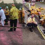 Szívmelengető gesztussal hálálták meg a tűzoltók munkáját