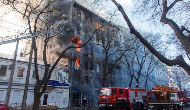 Odesszai iskolatűz: házi őrizetbe vették az iskola igazgatónőjét