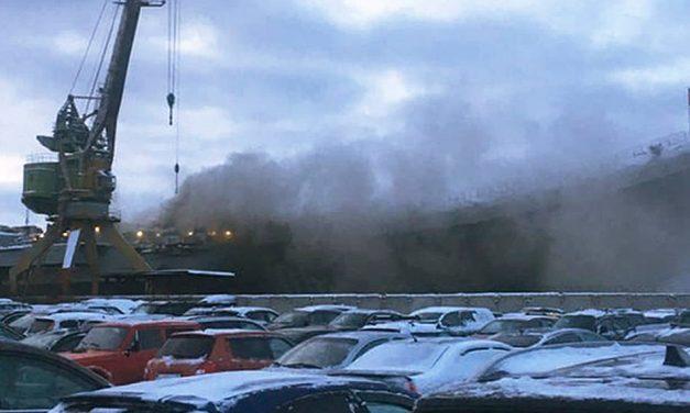 Halálos áldozata is van az orosz repülőgép-hordozón kiütött tűznek