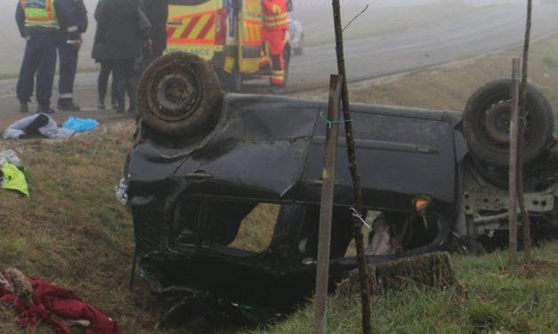Sokkoló videó a Somogy megyei halálos baleset helyszínéről