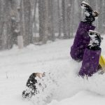 Kékestetőn csaknem 20 centis hó van (videó)