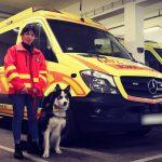 Egy megyei lány vezeti a fővárosi mentőautót
