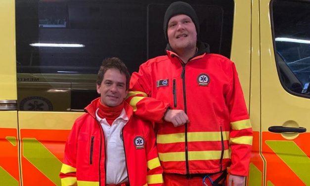 Közös bevetésre indult a mentők Stan és Pan párja: két fej van köztük, de nagyon jól kijöttek