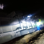 Felborult kamion, halálos áldozat, tömegkarambol: brutális balesetek az M5-ösön – fotó