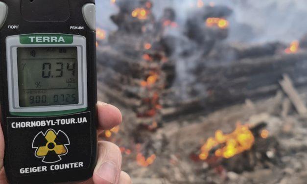 Tűz volt Csernobilnál, 16-szorosára nőtt a sugárzás