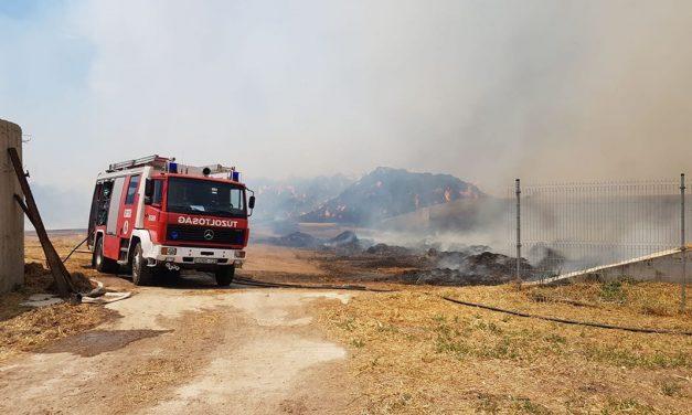 Helyszíni videón a hatalmas demjéni tűz