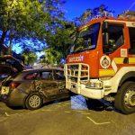 baleset Kispesten, az egyikben egy szirénázó tűzoltó is érintett