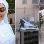 Ezt a felvételt nem felejti el: Kamerának pózolt a menyasszony, a következő pillanatban már az életéért futott