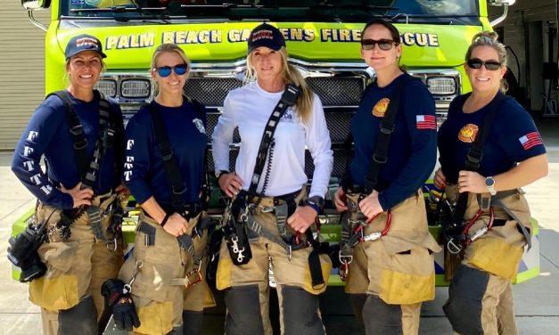 Imádja az internet a csak nőkből álló tűzoltócsapatot