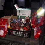 Az autómentők lepték meg ajándékkal a mentősöket Nagykanizsán