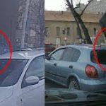 Járdán száguldva kerülte ki a dugót a Róbert Károly körúton egy budapesti autós