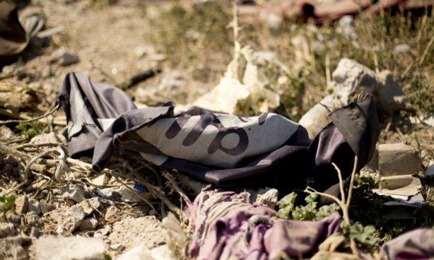 Terroristakincstárra bukkantak Moszul romjai között