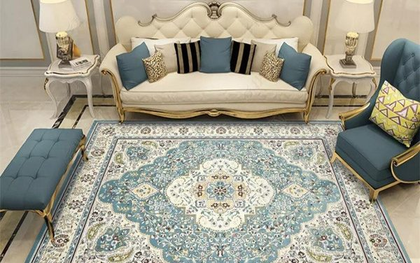 A szőnyeg design, ami nem csupán mutatós, de a teret is növeli