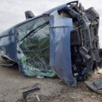 Felborult egy autó Ráckeve és Kiskunlacháza között