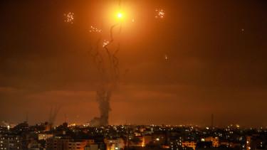 Folytatódott a rakétaháború Izrael és a gázai terrorszervezetek között