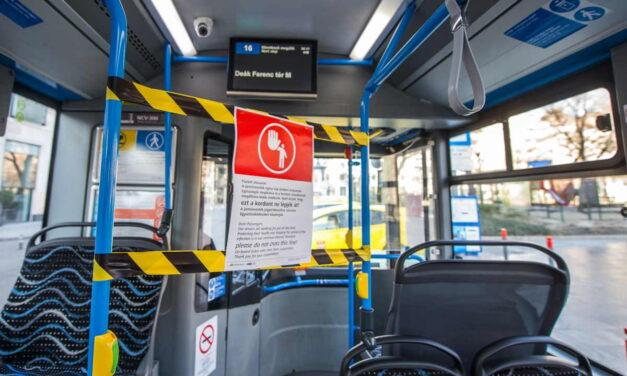 Újra használhatók az első ülések a BKK járművein