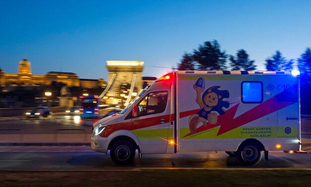 Az MFB támogatásával vásárol új rohamkocsit a Szent Márton Gyermekmentő Szolgálat