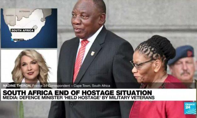 Túszul ejtettek több dél-afrikai kormánytagot